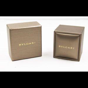 Bvlgari Gold ring box